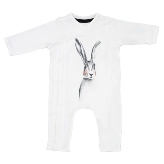 Miss Princess and Little Frog Pyjama Long Sleeves Rabbit 0-3m