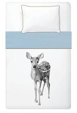 Miss Princess and Little Frog Dekbedovertrek 140 x 200 cm Deer