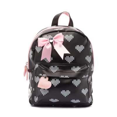 Zebra Girls Rugzakje Crossed Hearts Small Black & Pink