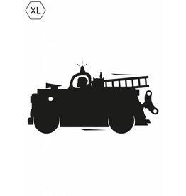 Kek Amsterdam Muursticker Firetruck XL