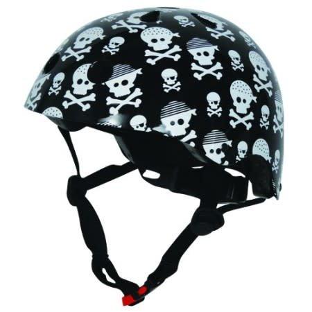 Kiddi Moto Helm Skulls Black