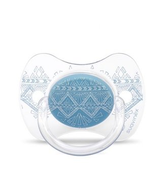 Suavinex Speen Couture Silicone 0-4m Light Blue