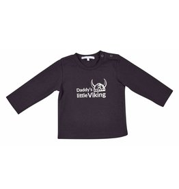 Gymp Shirt Daddy's Little Viking Zwart