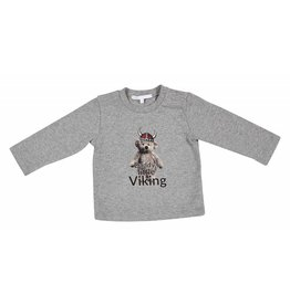 Gymp Shirt Daddy's Little Viking Grijs