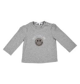 Gymp Shirt Smiley Grijs