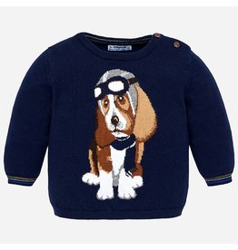 Mayoral Puppy Sweater