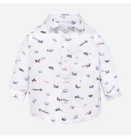 Mayoral L/s Shirt Pearl