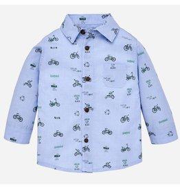 Mayoral L/s Shirt Lightblue