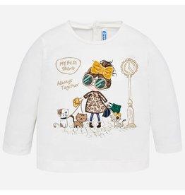 Mayoral L/s Shirt Natur-Yell