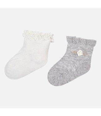 Mayoral Dressy Socks Set Ice