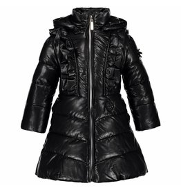 Le Chic Girls Long Coat Big Ruffle