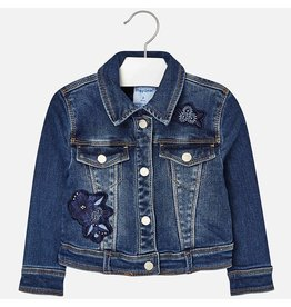 Mayoral Embroidered Denim jacket