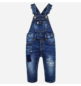 Mayoral Soft Denim Long Overalls