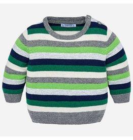 Mayoral Stripers Sweater Biogreen