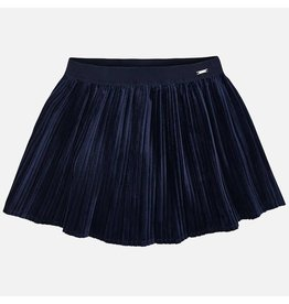 Mayoral Pleated Skirt Navy