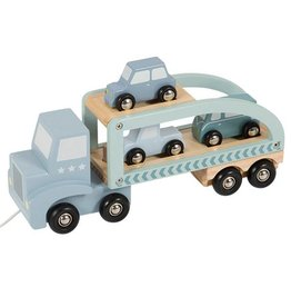 Little Dutch Truck Hout Mint