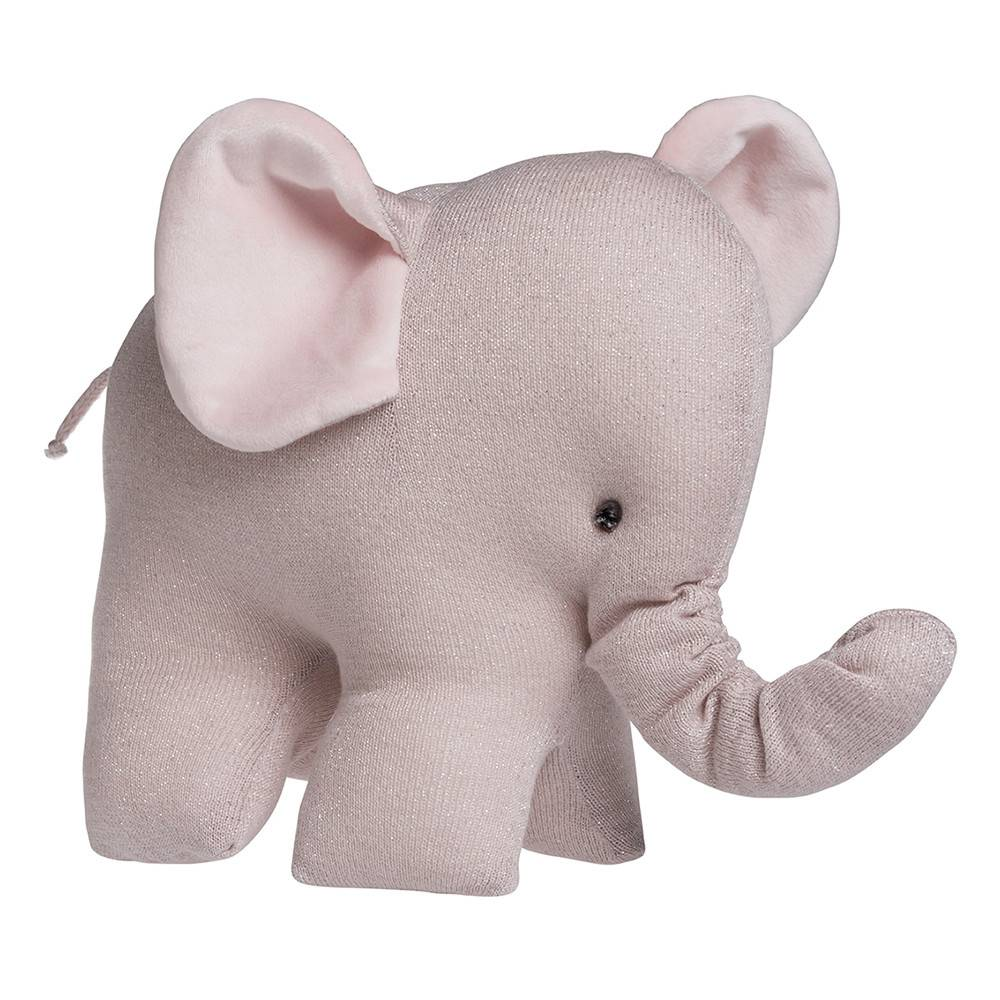 Baby's Only Sparkle Knuffelolifant Roze