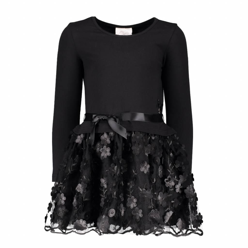 Le Chic Dress Flower Appl. Skirt