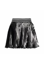 Le Chic Skirt Metallic Plissee