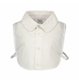 Le Chic Shirt Collar Embossed Leather