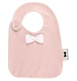 House Of Jamie Bow Tie Bib Pink