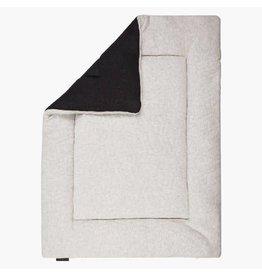 House Of Jamie Boxkleed Geometry Jaquard Black/Stone