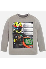 Mayoral L/S Driver Shirt Stone