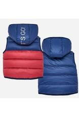 Mayoral Reversible Vest Cerise