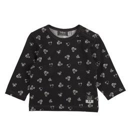 Zero2Three Shirt Lange Mouw Mickey Zwart