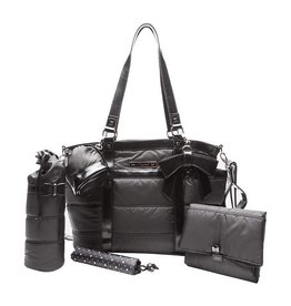 Mayoral Nursery Bag Satin Black With Accessories