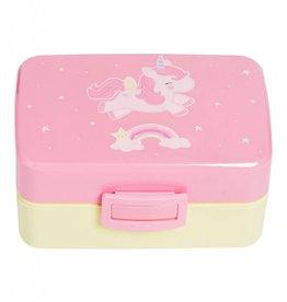 A Little Lovely Company Lunch Box Eenhoorn