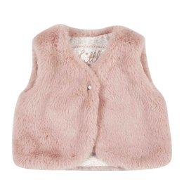 Gymp Bodywarmer Fur Pink