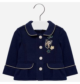 Mayoral Fleece Jacket Navy
