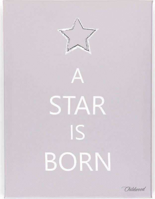 Childhome Schilderij A Star Is Born Taupe