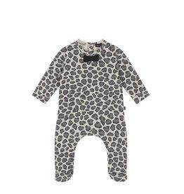 House Of Jamie Bow Tie Playsuit Rocky Leopard