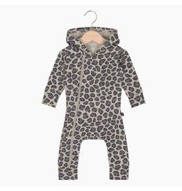 House Of Jamie Hoody Zip Jumpsuit Rocky Leopard