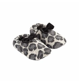 House Of Jamie Bow Tie Booties Rocky Leopard