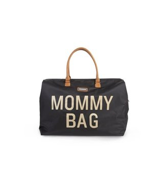 Childhome Mommy Bag Black-Gold