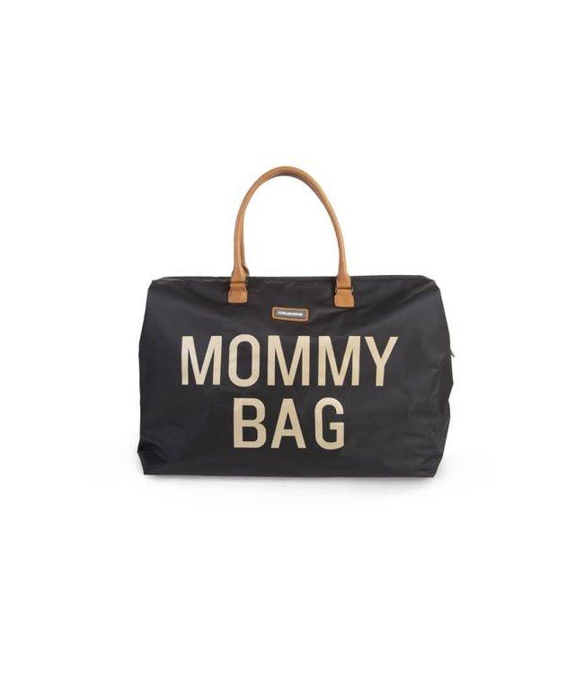 Childhome Mommy Bag Black-Gold
