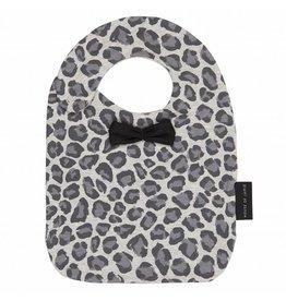 House Of Jamie Bow Tie Bib Rocky Leopard