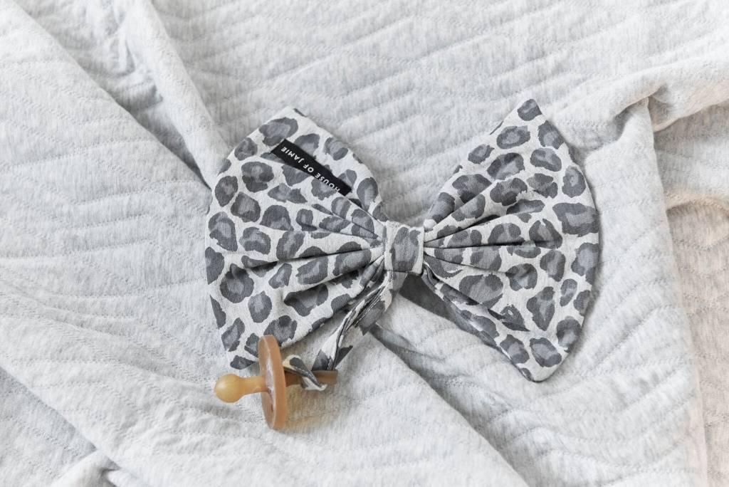 House Of Jamie Speendoekje Bow Tie Rocky Leopard
