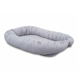 Jollein Cozynest Mini Dots Mist Grey