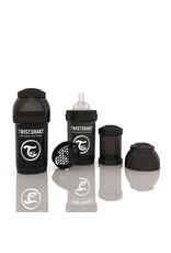 Twistshake Fles  Antikoliek 180 Black