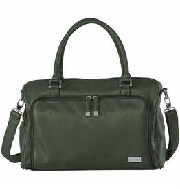 Nursery Bag Double Zip Satchel Khaki