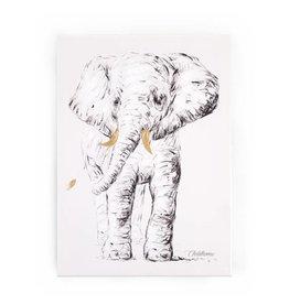 Childhome Schilderij Olifant