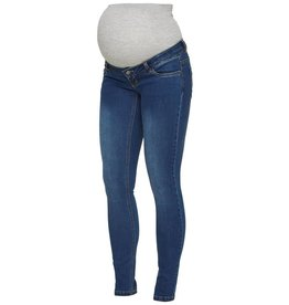 Mamalicious Ml Lola Slim Blue Jeans Noos