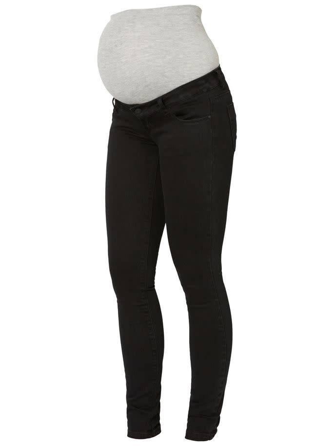 Mamalicious Ml Lola Slim Black Jeans Noos