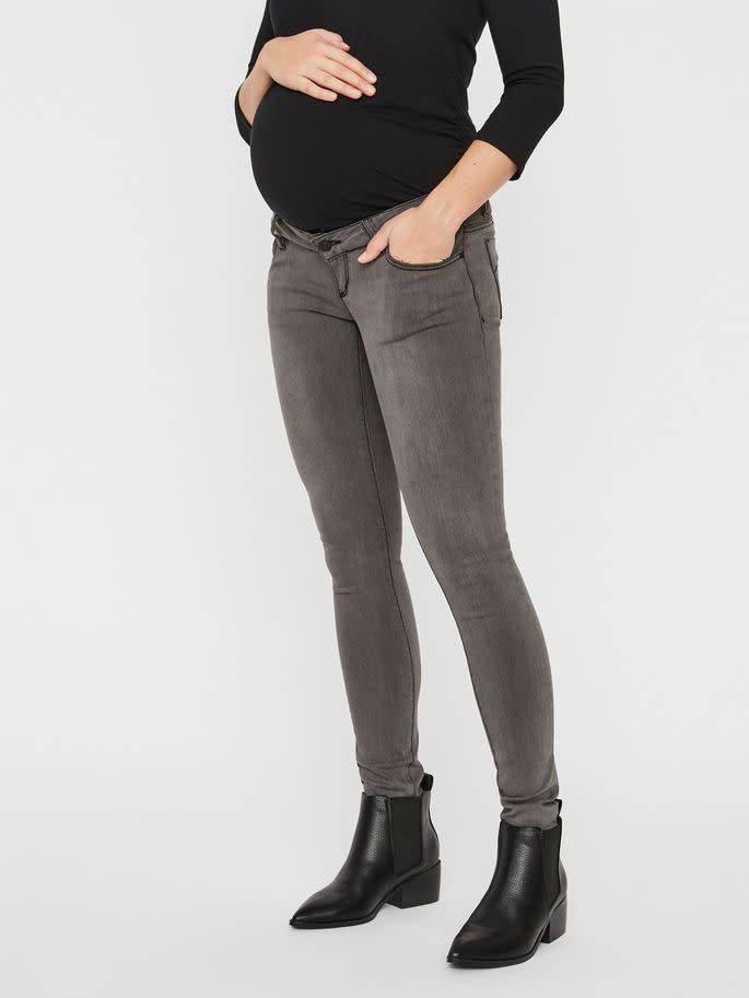 Mamalicious Ml Lola SLim Grey Jeans Noos
