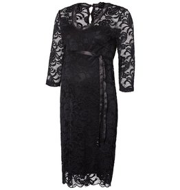 Mamalicious Ml Mivana Jersey Dress Black