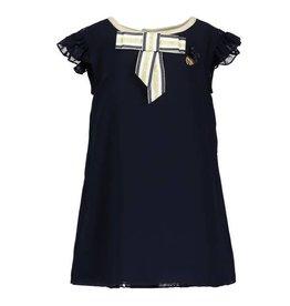 Le Chic Dress Fancy voile Blue Navy